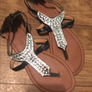 Shoes - Bling gladiator sandals